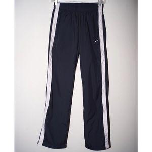Nike dark gray and white pants